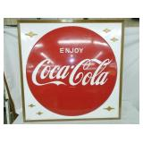 36IN ENJOY COKE SIGN