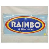 14X28 EMB RAINBO BREAD SIGN