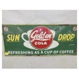12X28 EMB SUNDROP SIGN