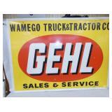 34X48 GEHL SALES SERVICE SIGN