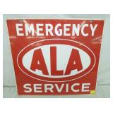 19X20 PROC ALA SERVICE SIGN