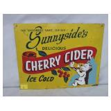 12X14 SUNNYSIDES CHERRY CIDER