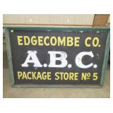 38X60 EDGECOMBE CO ABC SIGN