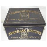 7X10 KRAK-R-JAK BISCUITS TIN