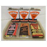 OILZUM OIL TINS & OTHER