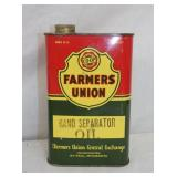 FARMER UNION 1 QUART TIN