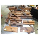 SEVERAL EARLY WOOD PLANES