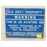 8X10 PORC US GOVERNMENT AVIATION AID