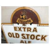VIEW 2 OLD STOCK ALE SIGN