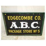 38X60 EDGECOMBE CO. ABC SIGN