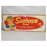 1962 12X30 EMB. SUNBEAM SIGN