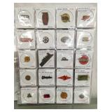 100 COLLECTION 1870-1930 TOBACCO TAGS