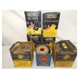 ADV. OLD STOCK HASTINGS OIL FILTERS
