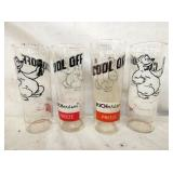EARLY RICHARDSON ROOT BEER GLASSES