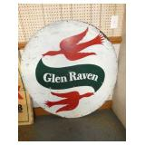 48IN GLEN RAVEN TRUCK SIGN