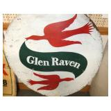 VIEW 2 CLOSEUP GLEN RAVEN TRUCK SIGN