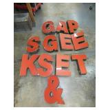 13X20 LIGHTED STORE LETTERS