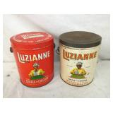 3LBS LUZIANNE COFFEE CANS