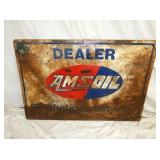 24X36 AMSOIL DEALER SIGN