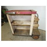 UNSUSAL DECO SHOP CART