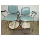 2 WORKING HAIR SALON CHAIRS