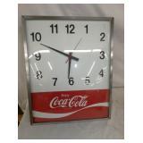 13X16 COCA COLA CLOCK