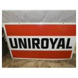 32X54 UNIROYAL SIGN