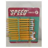 9X10 NOS SPEED PENCILS DISPLAY