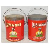 3LB. LUZIANNE COFFEE TINS
