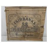 14X15 FAIRBANKS GOLD DUST PAPER LID