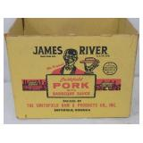 9X11 JAMES RIVER PORT ADV. BOX