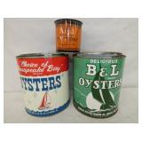 ADV. OYSTER TINS