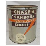 15PDS. CHASE & SANBORN COFFEE CAN