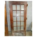 15PANE ENTRY DOOR