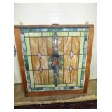 NICE COLORS STAINED GLASS WINDOW