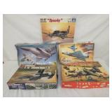 VARIOUS FIGHTER JET MODELS