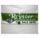 PORC. 12X36 ROYSTER FERTILIZER SIGN