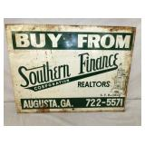 18X24 SOUTHERN FINANCE SIGN