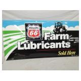 24X47 PHILLIPS 66 FARM LUBRICANTS SIGN