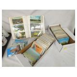 SEV. 100 EARLY POSTCARDS