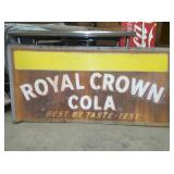34X70 EMB. ROYAL CROWN SIGN