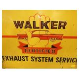 VIEW 2 CLOSEUP EMB WALKER SERVICE SIGN