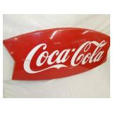 VIEW 2 CLOSEUP 1963 COKE FISHTAIL SIGN