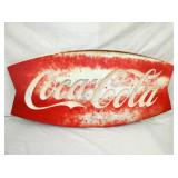 20X43 COCACOLA FISHTAIL SIGN