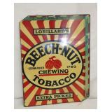 11X15 BEECH NUT TOBACCO SIGN