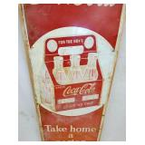 VIEW 2 CLOSEUP COKE SIGN W/ CARTON