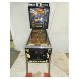 POLICE FORCE PIN BALL GAME