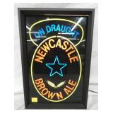 13X19 NEW CASTLE BROWN ALE LIGHT