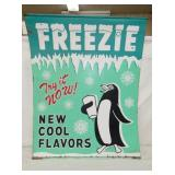 30X37 FREEZIE ADV PAINTED SIGN