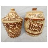 WATT POTTERY COOKIE JARS